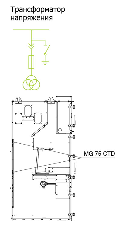 Комплектация корпуса HWD для исполнений 2