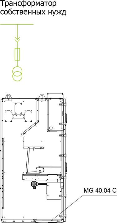 Комплектация корпуса HWD для исполнений 3