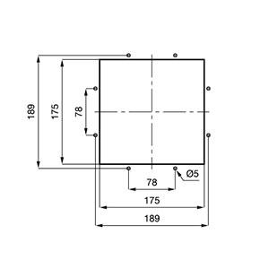 ВЕНТИЛЯТОРЫ ФИЛЬТРУЮЩИЕ 420-750 м3/ч / ДЛЯ УСТАНОВКИ НА КРЫШУ 230В AC Монтажный вырез TP19U