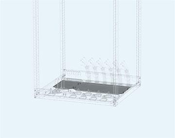 Панель кабельного ввода стационарная
