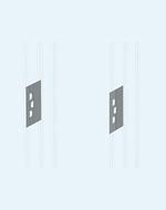 Панель секционная вертикальная под ввод кабельный Preview