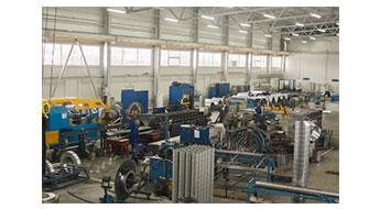 HVAC. Проект запуска производства стальных воздуховодов.