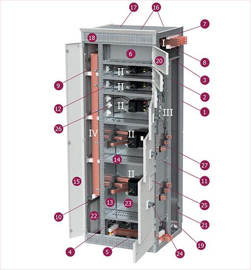 Секции стационарных соединений на базе корпуса серии LFS/LFM 2