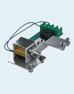 Блокировка электромагнитная аппаратной тележки