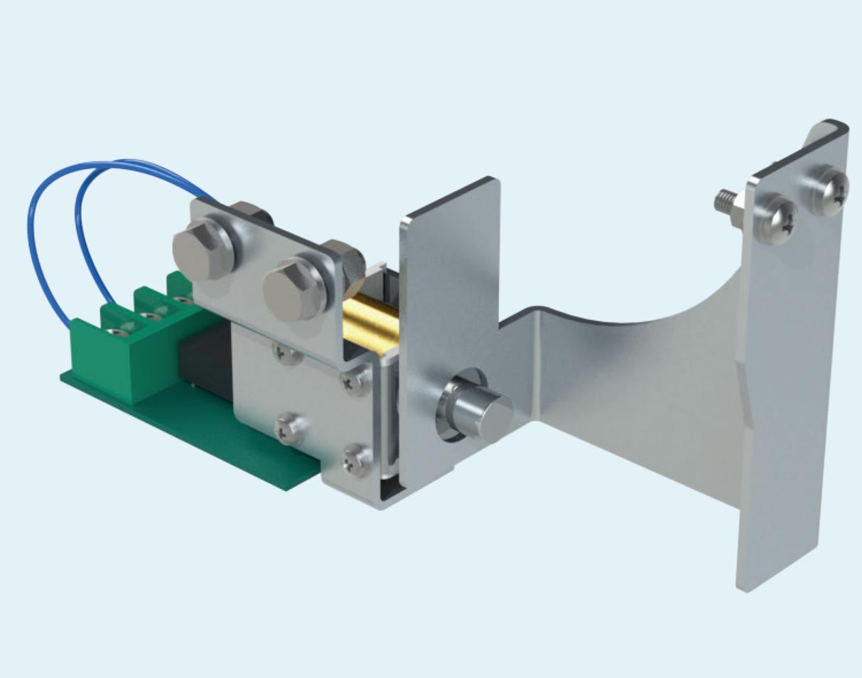 Блокировка электромагнитная шторки разъединителя заземляющего