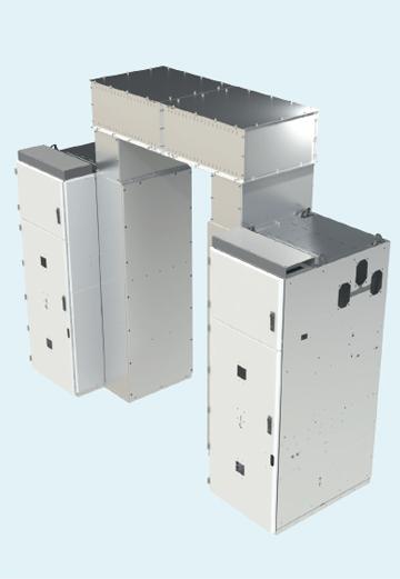 Пример шинного моста двух секций распределительного устройства