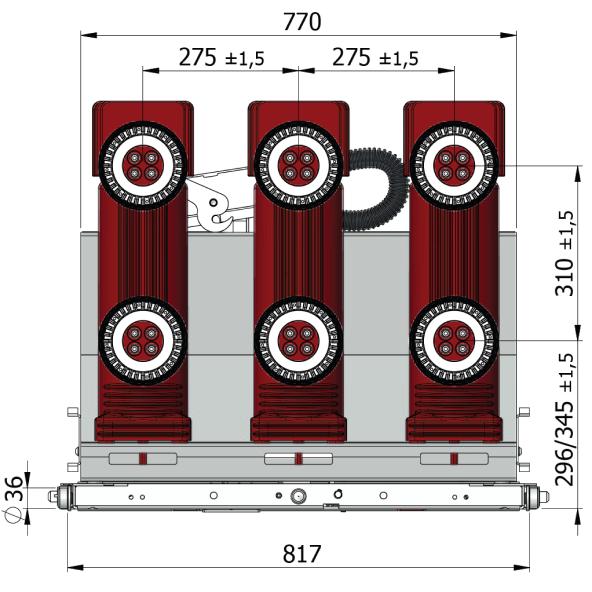 Размеры выключателей