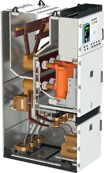 Пример сборки шкафа КРУ на базе корпуса HWM 230.