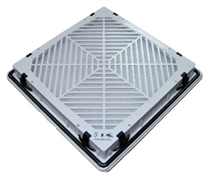 Защелки для быстрой установки фильтрующих вентиляторов (общий вид).
